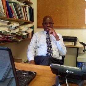Professor Edward Lungu, University of Botswana