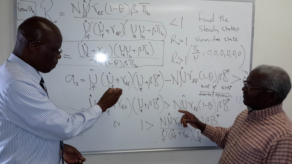 Professor Lungu, University of Botswana